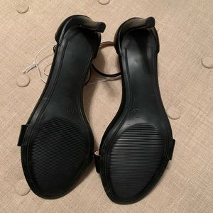 a new day Shoes - NWOT A New Day Black Myla Stiletto Pumps